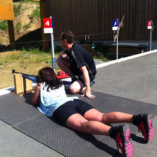 Erleben Sie Biathlon im Sommer