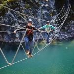 Geschicklichkeit auf der Burma Bridge